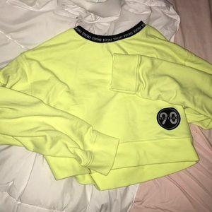 90 New York Forever 21 cropped sweatshirt